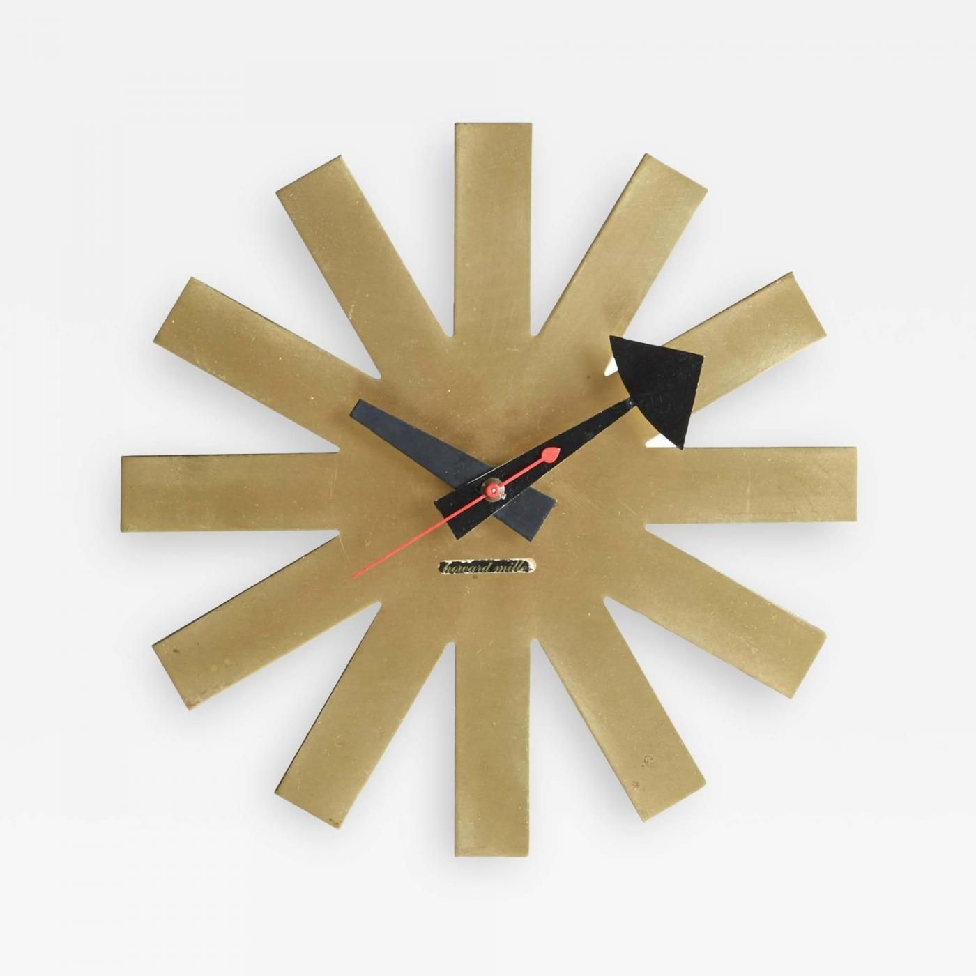 George Nelson ~ Asterisk ~ Wall Clock For Herman Miller Clock Company ~ 1947 Gallery