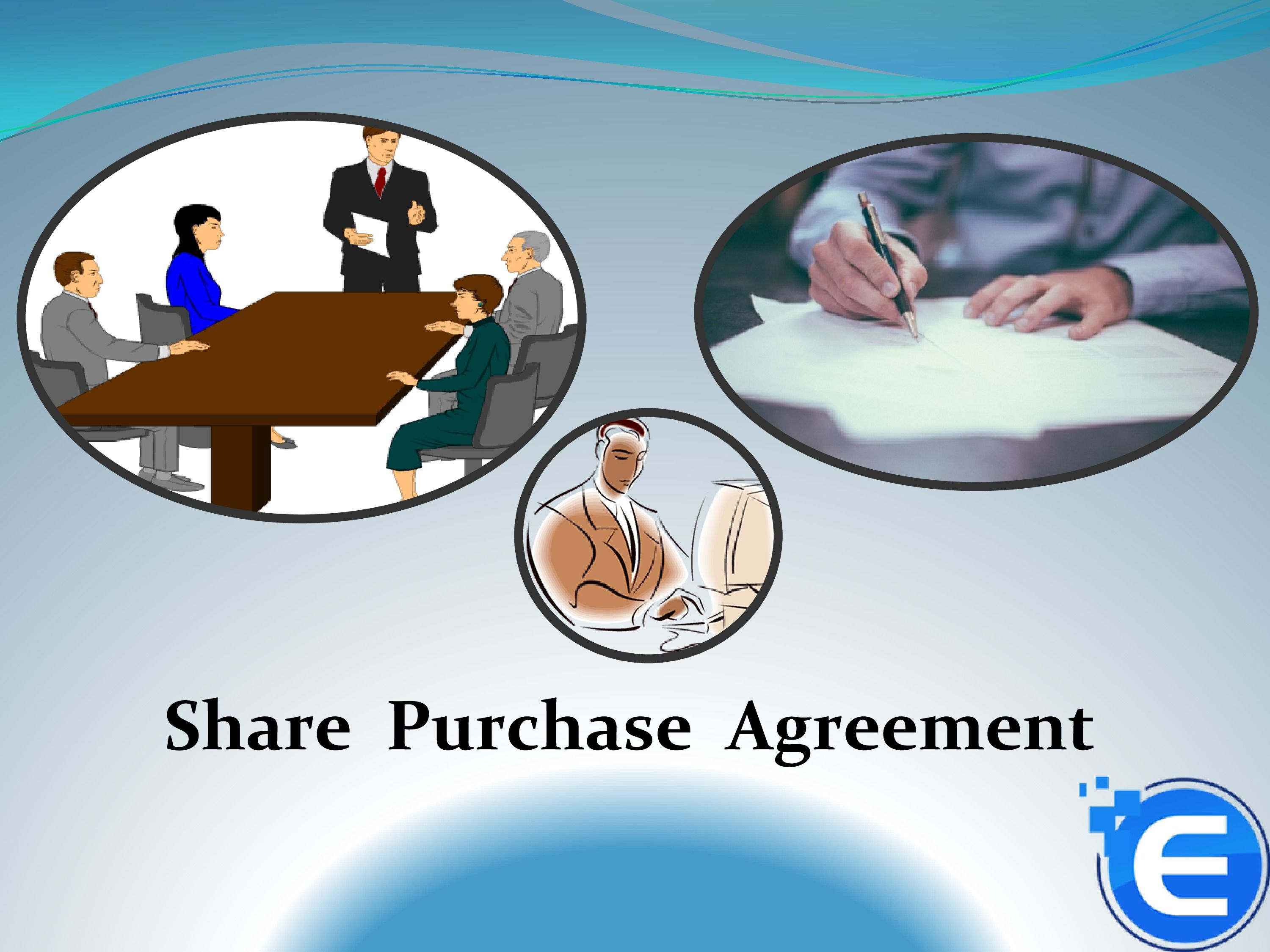 The Share Purchase Agreement Is An Agreement In Which Terms And