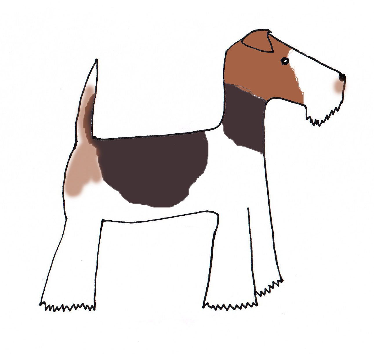 Natalie Hughes // Fox Terrier | Wire Fox Terrier | Pinterest