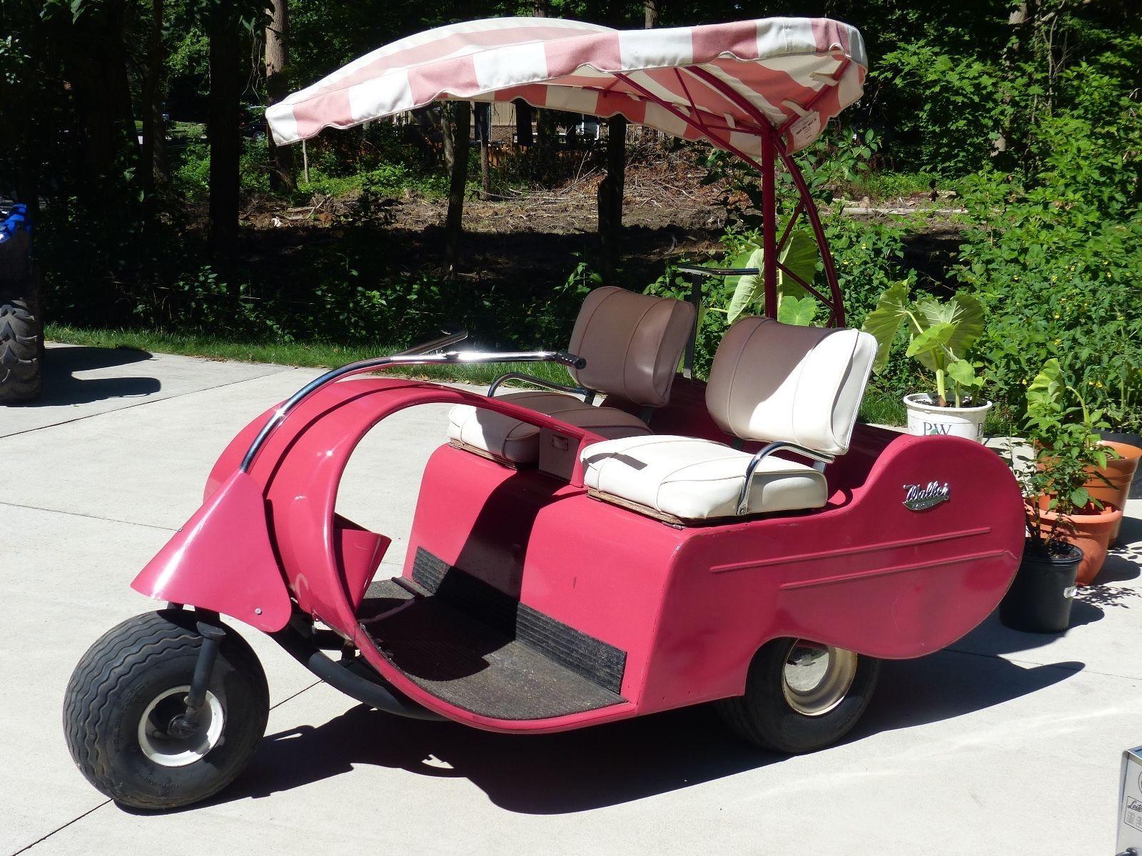 Vintage 1957 Jato Walker Golf Cart Golf Carts For Sale Golf Carts Custom Golf Carts