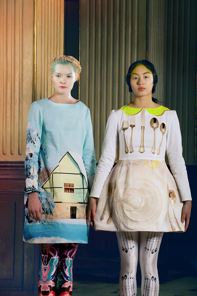 That's what I call creative! - Inspiring Romanian fashion design via Dana Komjaty