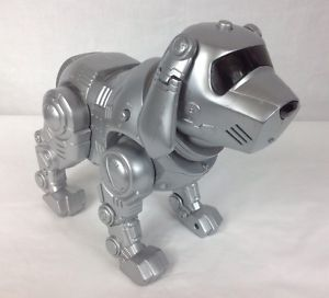 Manley Toy Quest Tekno Interactive Toy Robot Puppy Dog Only Works