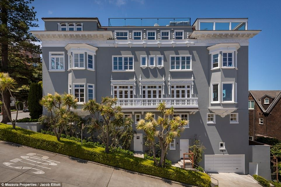 Pacific Heights Mansion Where Vanessa Getty Once Lived Asks 30m San Francisco Houses Pacific Heights Mansions