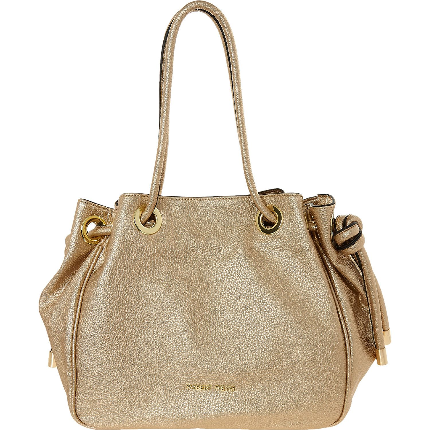 Robert Pietri Gold Tone Drawstring Per Bag Tk Ma
