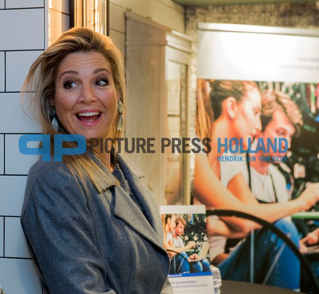 Queen Maxima at the presentation of Dutch Comite for Business and Finance Annual report 2016. Okt. 18, 2016