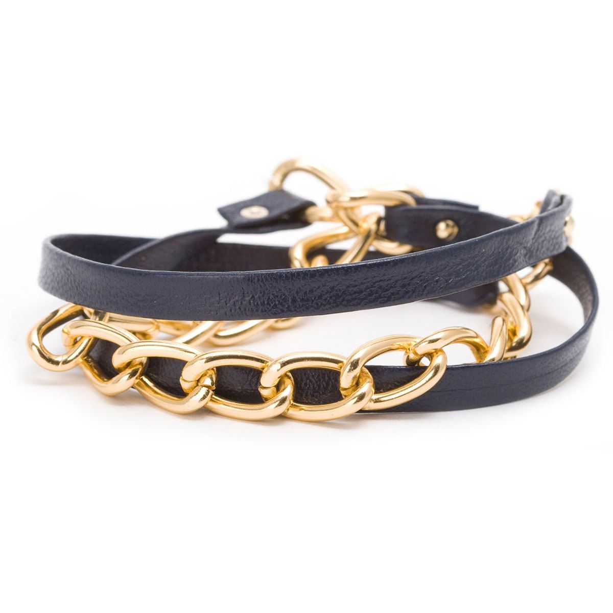 chain wrap bracelet by gorjana.