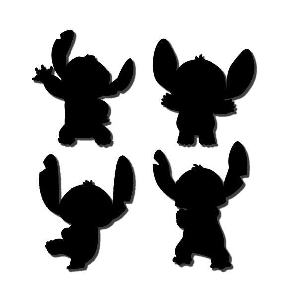 Lilo stitch svg dxf cut file instant download by 5shp on for Lilo and stitch arts and crafts