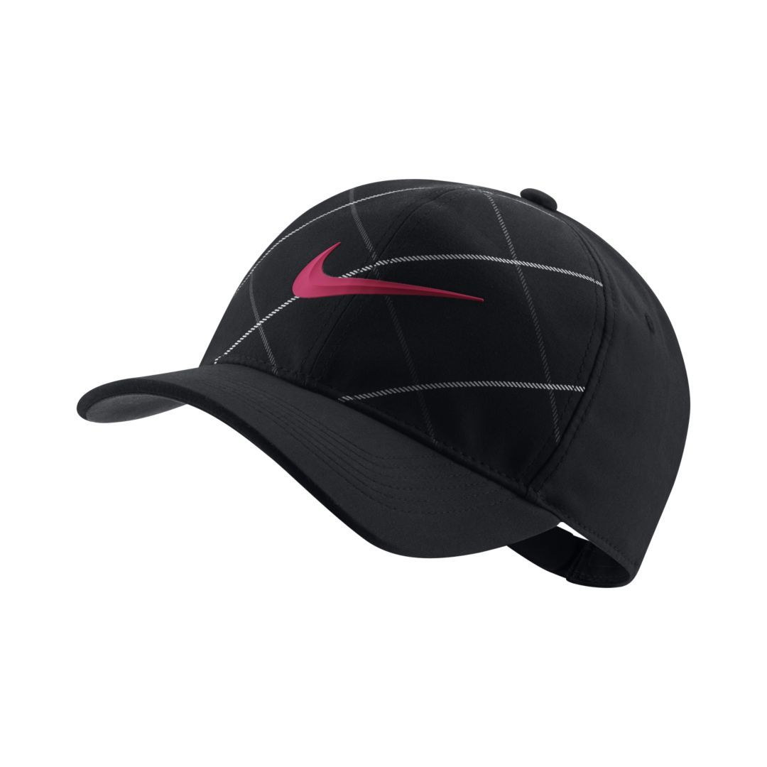 d2e46d869bd Nike AeroBill Classic99 Adjustable Golf Hat Size ONE SIZE (Black ...