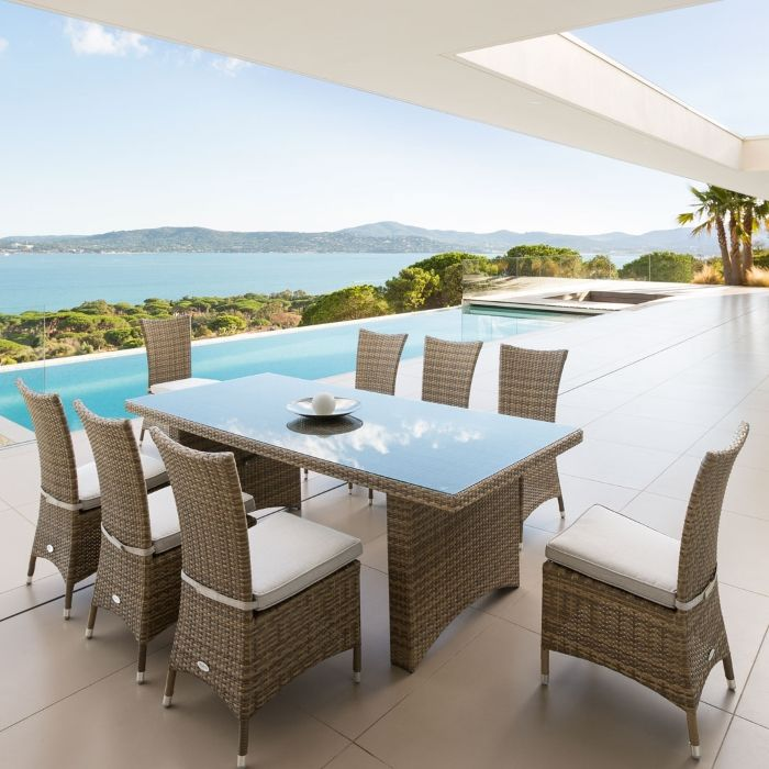 Table extensible Chaweng - HESPERIDE.fr | Salon de Jardin | Table ...