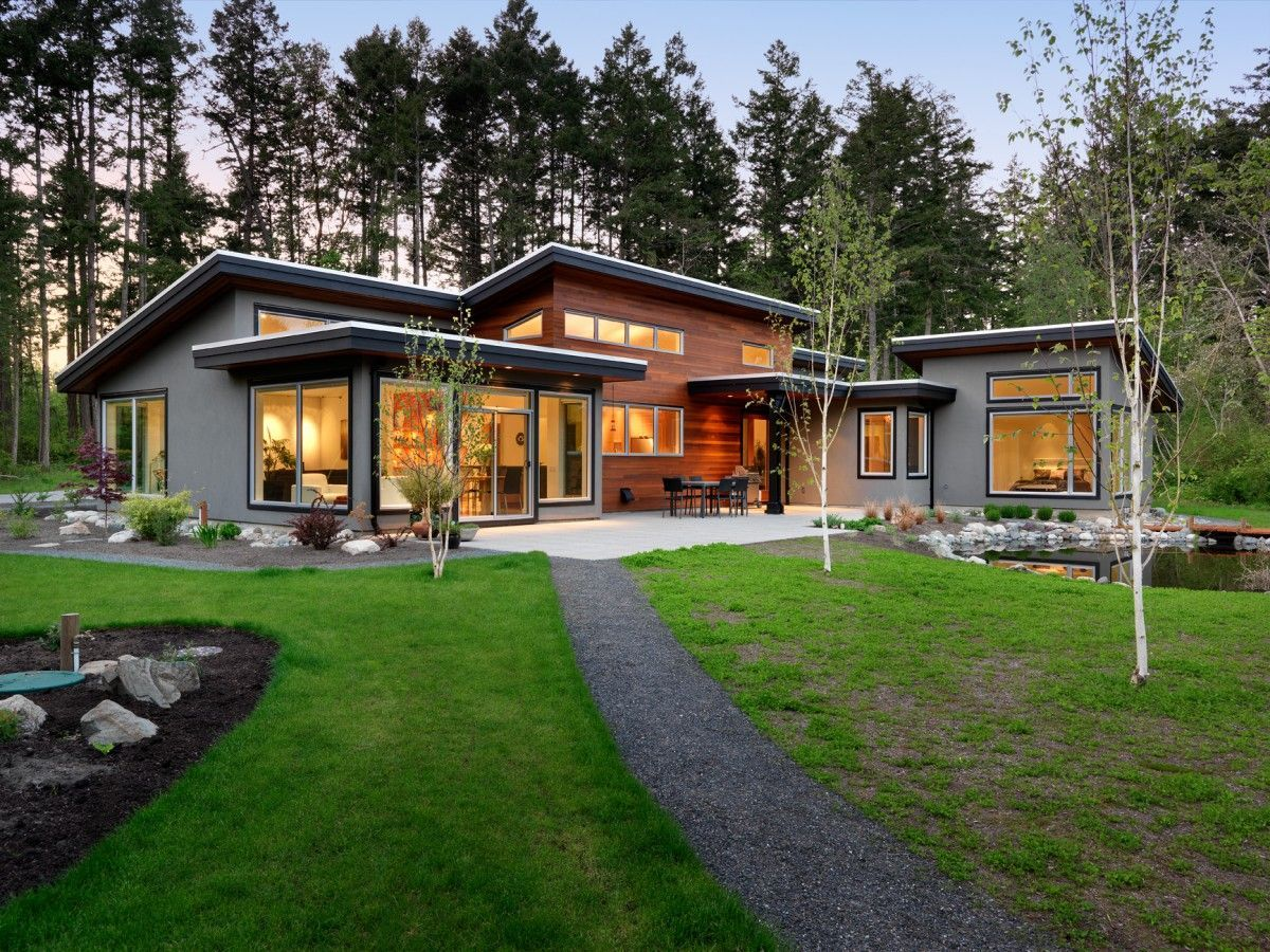 Found on Bing from www.pinterest.com | Modern style house plans, Modern house exterior, House designs exterior