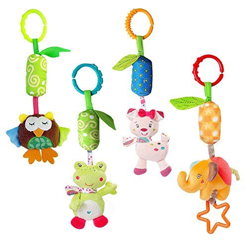 Baby Rattle Toy Kids Stroller Hanging Bell Carseat\Pram Toy Cute Wind Chime