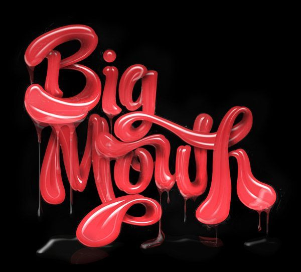 Amazing 3D Typography That Will Blow You Away #3dtypography