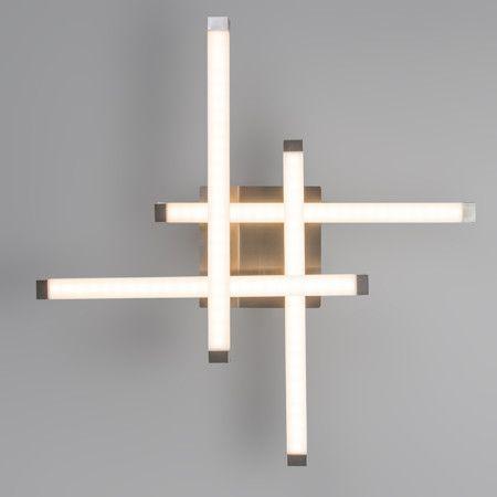 Deckenleuchte Mondriaan Stahl LED #deckenleuchte #futuristisch - deckenlampen wohnzimmer modern