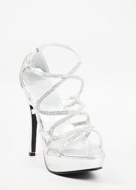 Silver Platform Heels For Prom
