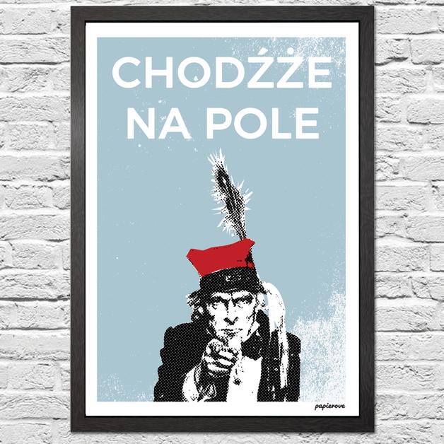 Kraków Chodźże Na Pole Plakat A2 Gifts In 2019