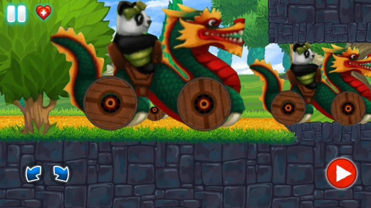 racing games for kids bao panda driving dragon car cars for kids