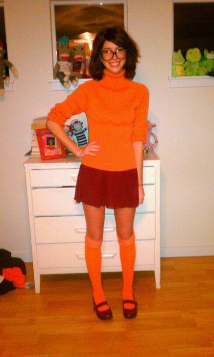 Cosplay velma costume halloween scooby doo costumes easy funny also fun homemade on  budget rh ar pinterest