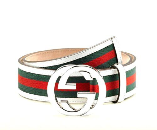 bdfc51f5756 Gucci belt with interlocking buckle Gucci http   www.amazon.com