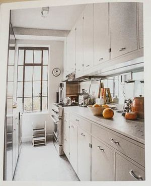 Kitchen In Thomas O Brien S Upper East Side Apartment From American Modern By