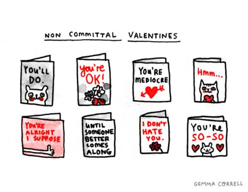 i always hated sending valentines to people i didn't like that, Ideas