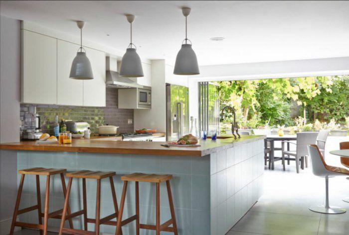 Küchenplanung Ikea Küchen Holz Weiss Offene Küche