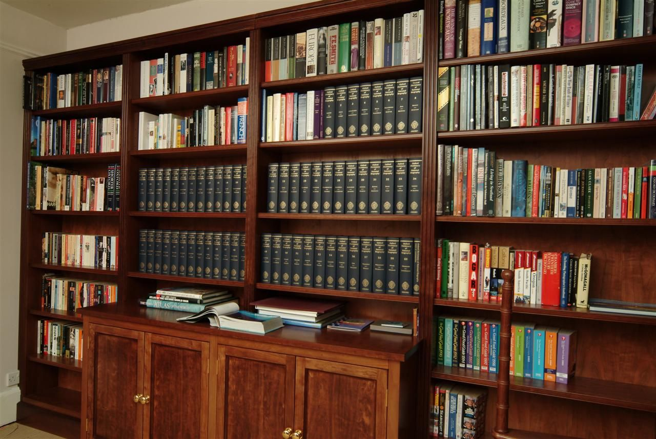 White And Dark Wood Bookcase Google Search