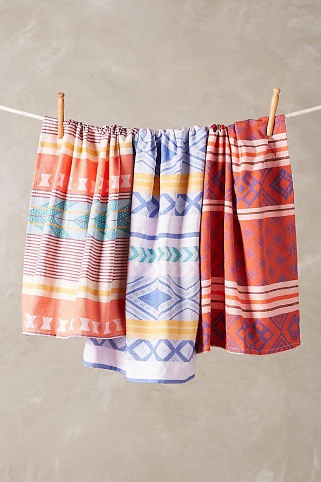 Anthropologie Wedding Fairytale Tea Towel Set