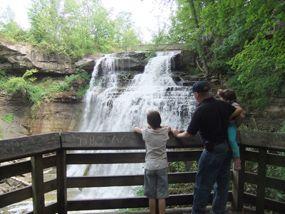 Location Brandywine Gorge Trail Trailhead 8176 Brandywine Road Sagamore Hills 44067 Distanc Cuyahoga Valley National Park Ohio Hiking Cuyahoga National Park