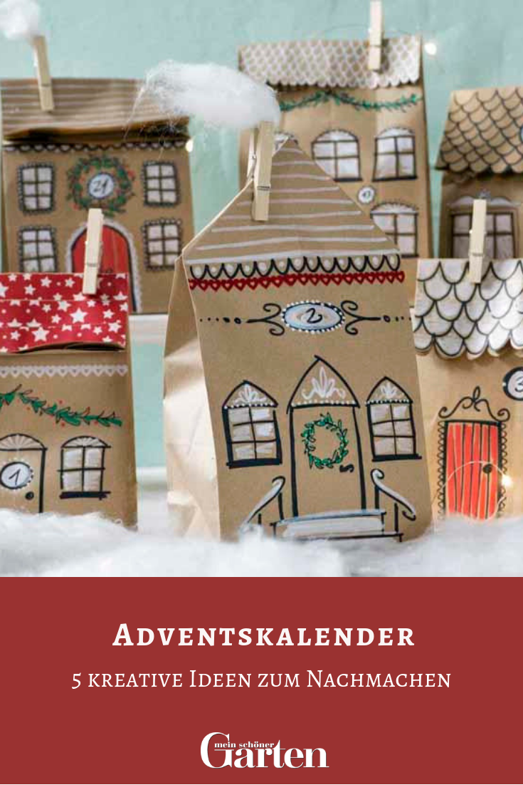 5 kreative Adventskalender zum Nachmachen