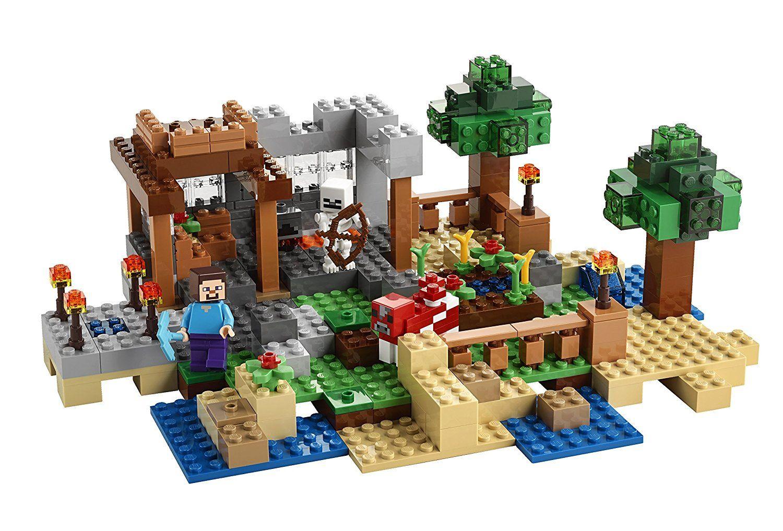 Amazon Com Lego 21116 Minecraft Crafting Box Toys Amp Games Lego Minecraft Lego Minecraft