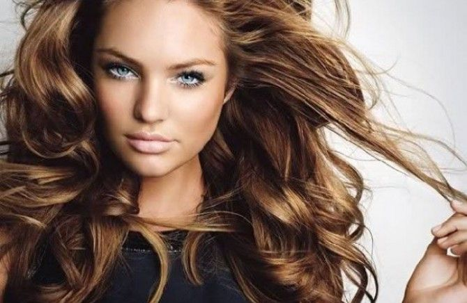 Awesome Hair Color with Dark Eyebrows