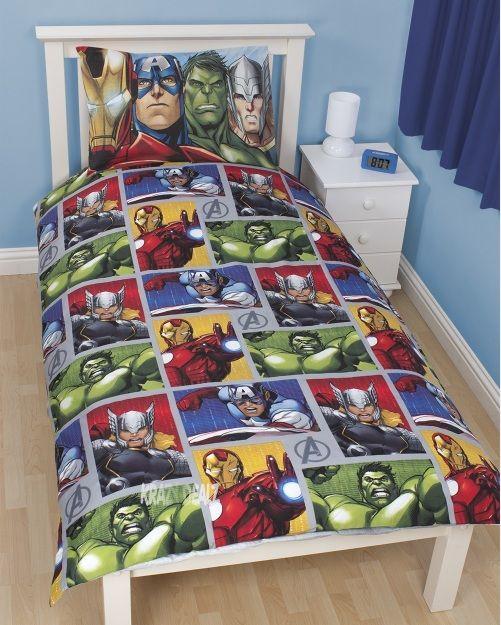 Marvel Avengers Team Bedding Sets For Boys