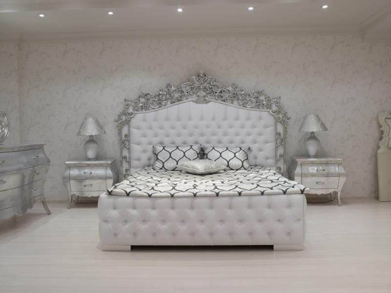 Fabulous White Baroque Bedroom What A Dream I Definitely Want Home Interior And Landscaping Eliaenasavecom
