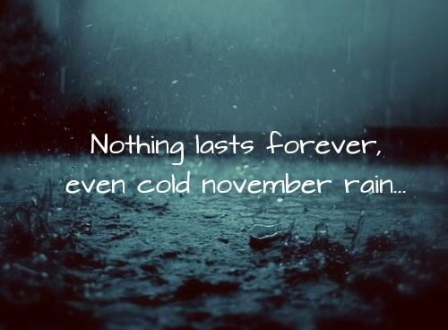 Raindrops Falling From The Sky Wallpaper Nothing Lasts Forever Rain Quotes November Rain
