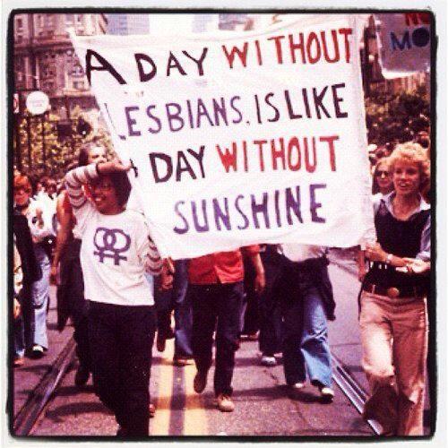 Sunshine lesbian