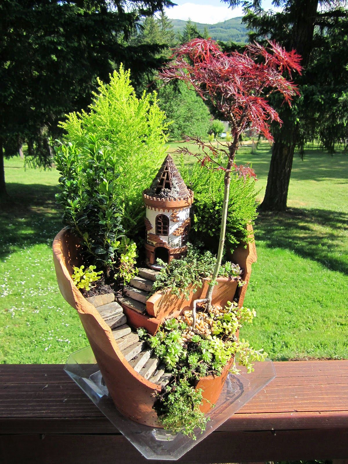 Take Your Pick! The Top 50 Mini-Fairy Garden Design Ideas | Castles ...