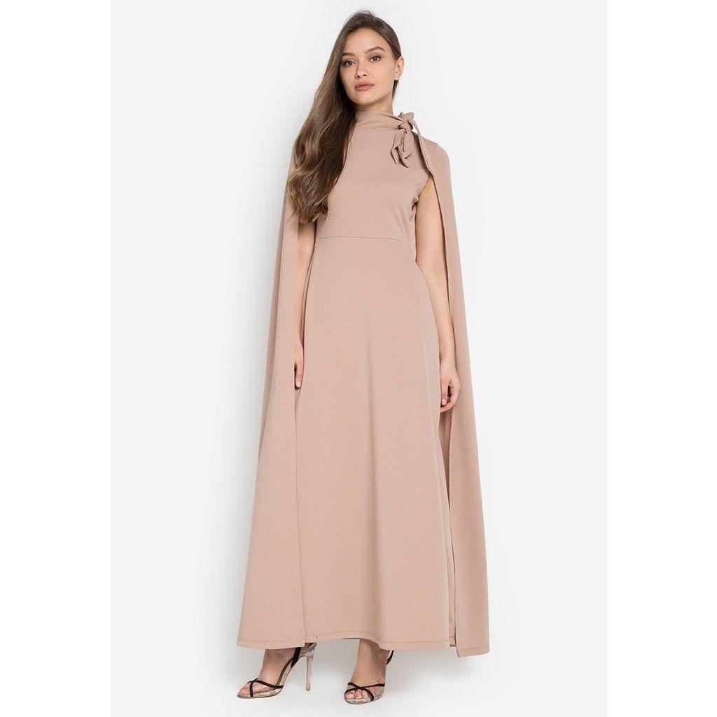 Sasha cape maxi dress cape and products