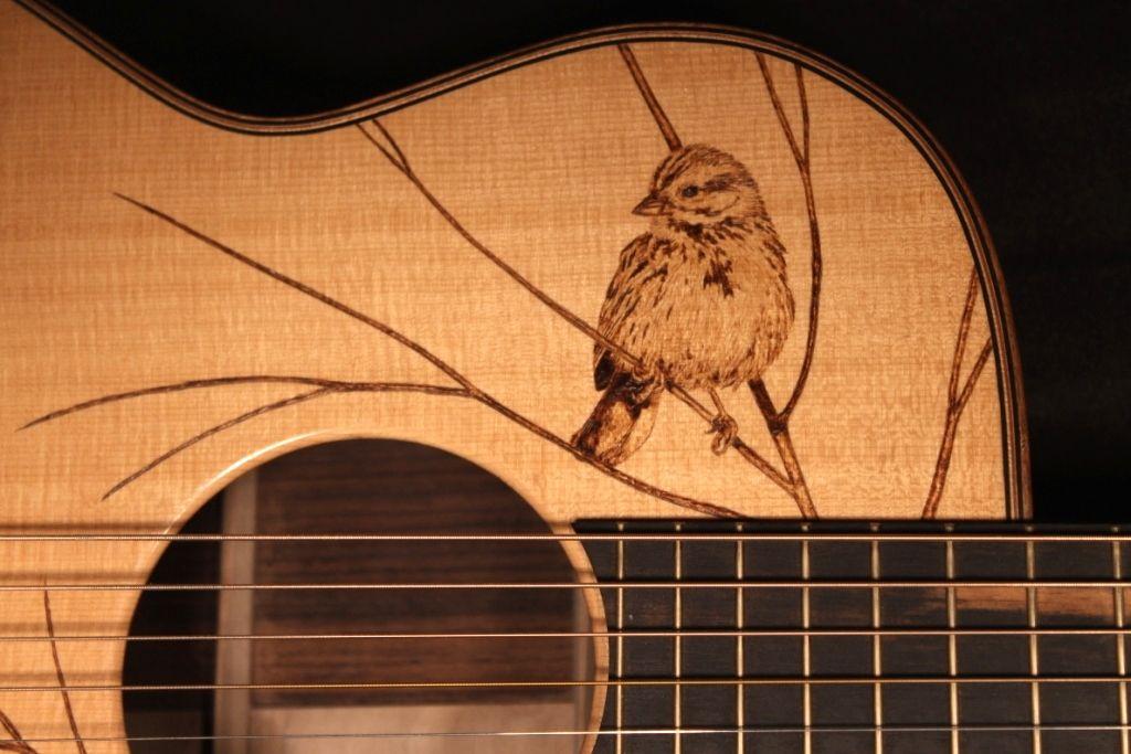 Woodburner Com Pyrography Sole Proprietor Acoustic Guitar Art Guitar Painting Guitar Art
