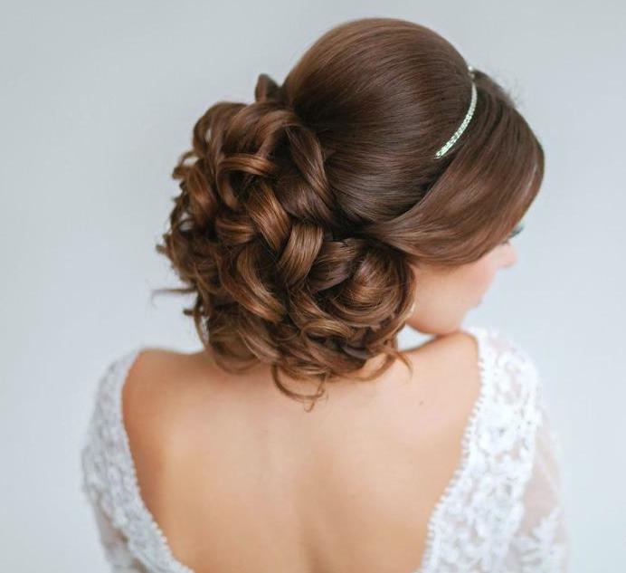 Elegant Wedding Hairstyles 21 Classy And Elegant Wedding Hairstyles  Hair Buns Classy And Elegant