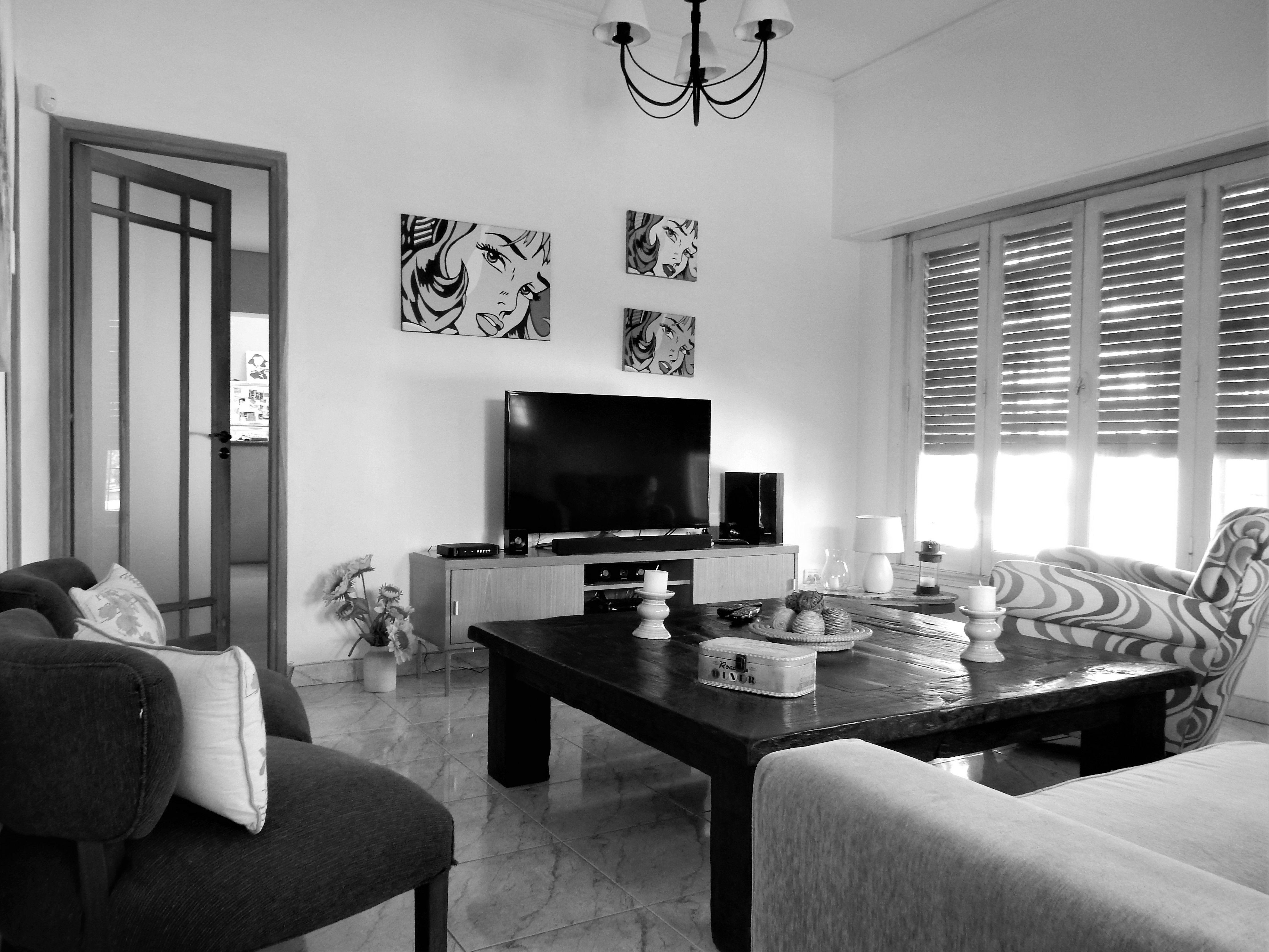 Living chalet estilo californiano en venta ituzaing for Living estilo clasico