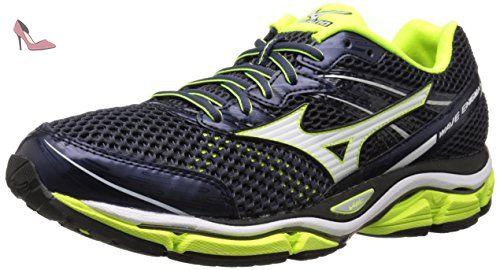 Wave Prophecy 6 Nova, Chaussures de Running Entrainement Homme, Noir (Black/Silver), 42 EUMizuno