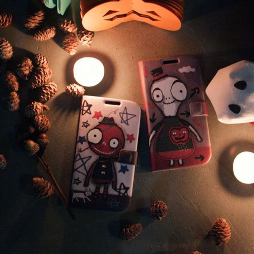 [HAPPY MORI] HALLOWEEN:LITTLE GHOST Phone Case_Galaxy S3/S4/Note_iPhone 4,4s/5,5s