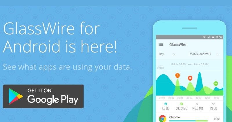 GlassWire for Android now shows what eating up your data