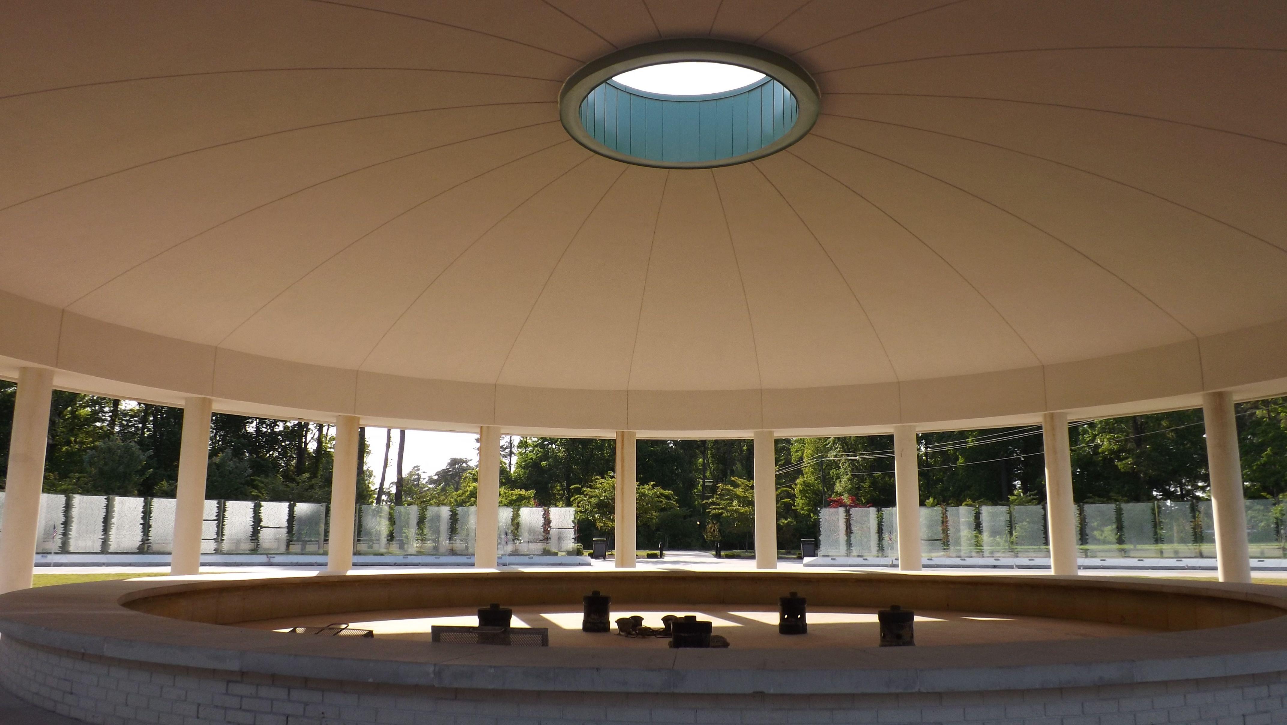 Under the Dome - Onslow Vietnam Veterans Memorial, Lejeune Memorial ...