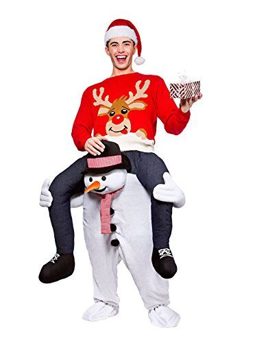 Ride On Me Super Mario Mascot Shoulder Carry Piggy Back Fancy Dress Halloween