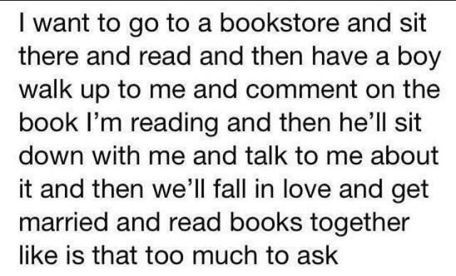 Is it too much to ask?!