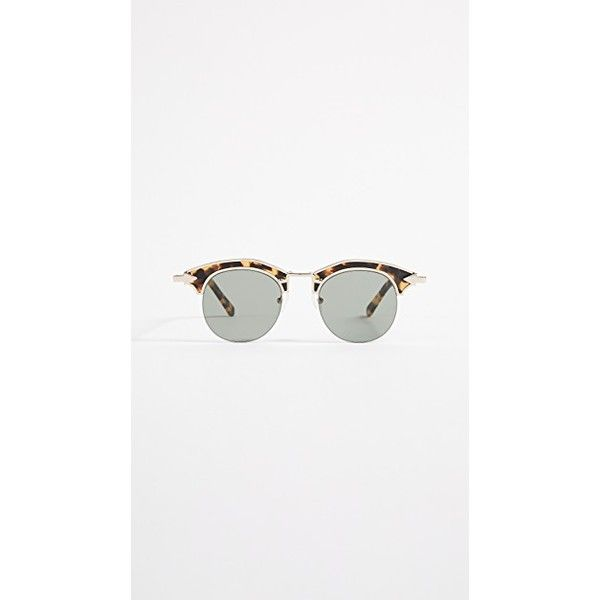 Karen Walker Buccaneer Sunglasses ($250) Liked On Polyvore
