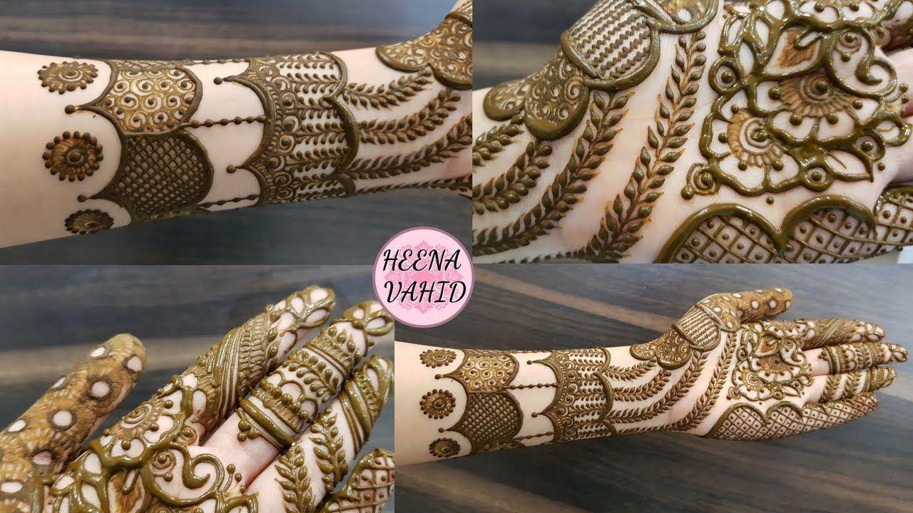 Hv Creation Of Henna Design 38 2020 Heena Vahid Youtube Henna Designs Henna Designs Hand Henna