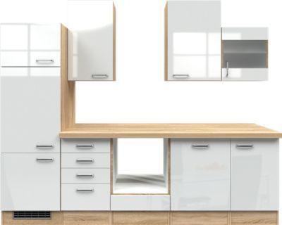Flex-Well Küchenzeile ohne E-Geräte 280 cm L-280-2307-014 Valero - küchenzeilen ohne geräte