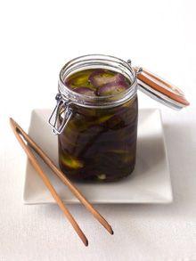 Food & Styling: Aubergines op olie